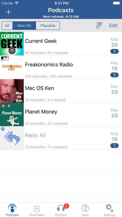iCatcher! Podcast Player screenshot-0