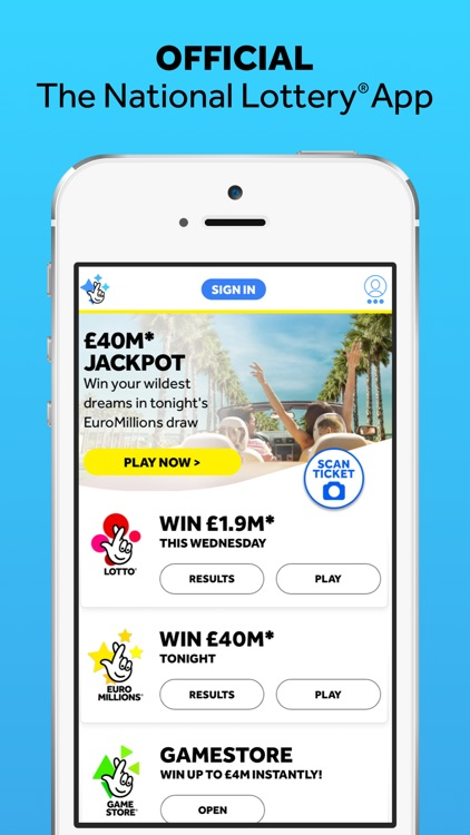 The National Lottery(Official) screenshot-0