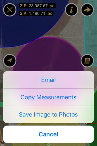 Planimeter - Measure Land Area & Distance on a Map screenshot 3
