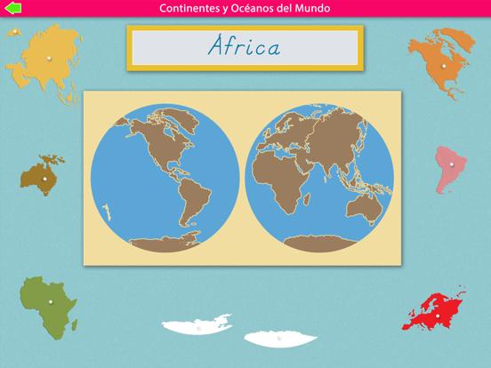 Continentes y Océanos screenshot 10