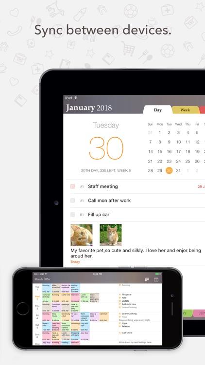 Planner Pro - Daily Calendar screenshot-4