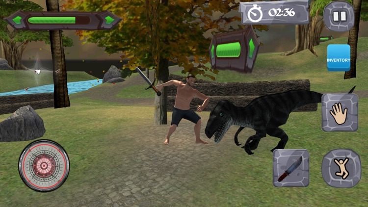 Dinosaurs Survival Island 3D screenshot-3