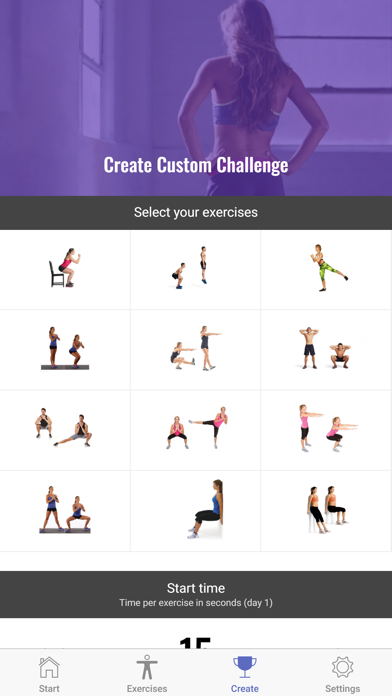 The 30 Day Squat Challenge | App Price Drops