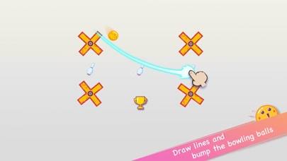 Line Bowling screenshot 1