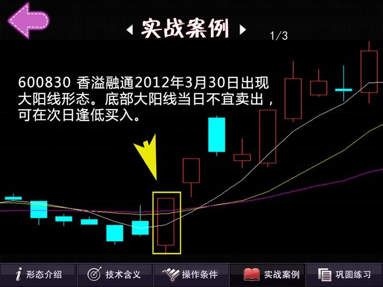 K线形态宝典HD   全方位炒股学院