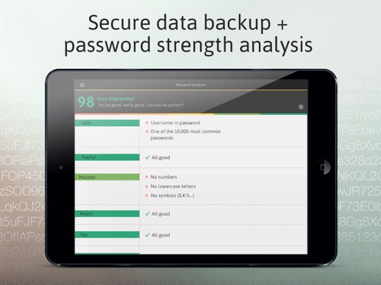 Password Manager: Passible-ipad-2
