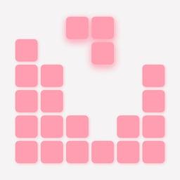 Pink Blocks - 10x10 Puzzle