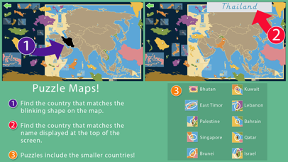 Asia - Montessori Geography screenshot 3