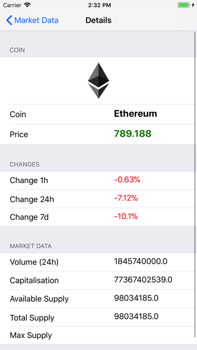 Crypto Market Informer screenshot three