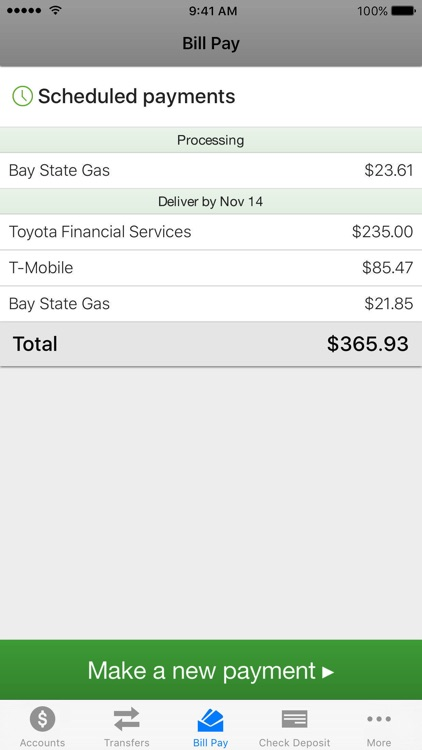 BayPort CU Mobile Banking screenshot-3