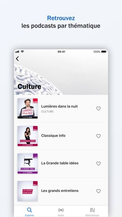 Radio France - direct, podcast screenshot-3