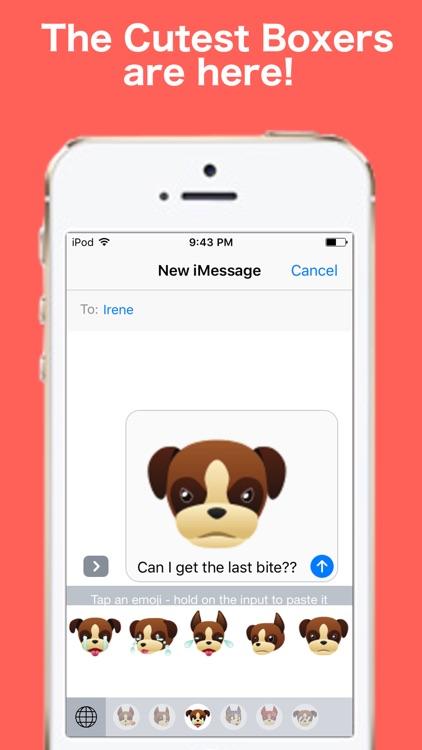 BoxerMojis - Emojis for Boxer Lovers screenshot-0