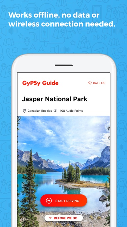 Jasper National Park GyPSy screenshot-2