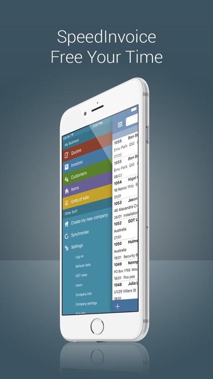 Invoice App with Estimates screenshot-4