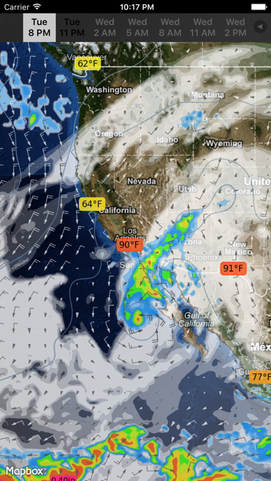 Weathermap review screenshots
