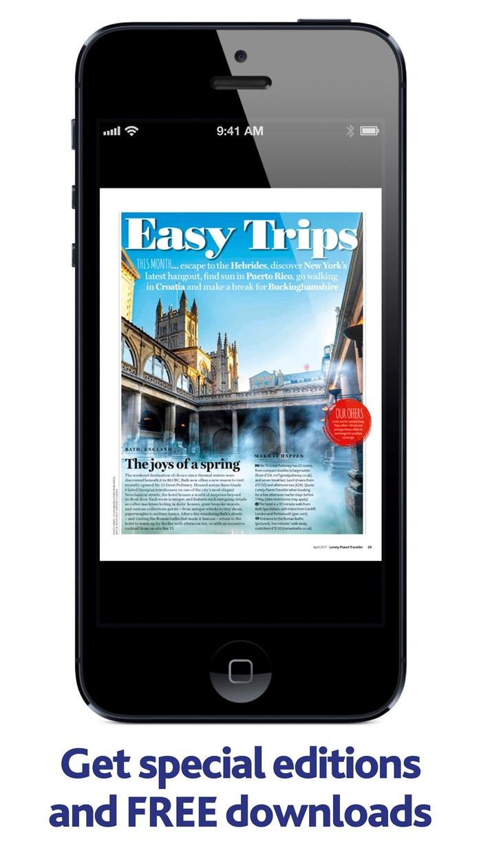 Lonely Planet UK Magazine Screenshot