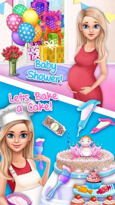 Sweet Baby Girl Newborn 2 screenshot 1