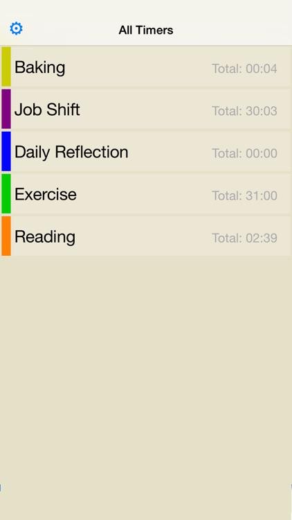 Timer Log: StopWatch and Timer screenshot-3
