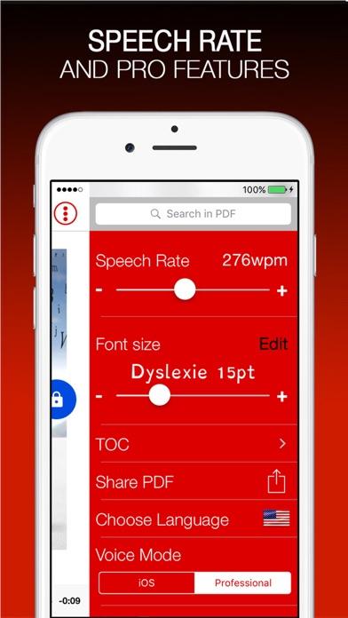 vBookz PDF Voice ReaderScreenshot von 4