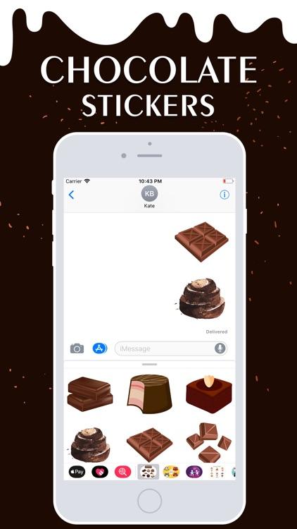 Chocolate Stickers! screenshot-3