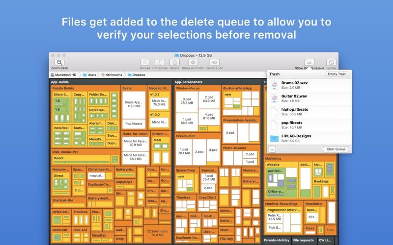 Disk Map: Visualize Disk Usage Screenshots
