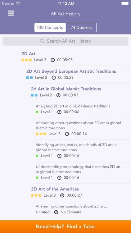 ap art history quiz
