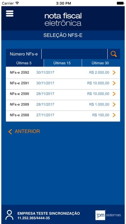 IPM NFs-e screenshot-3