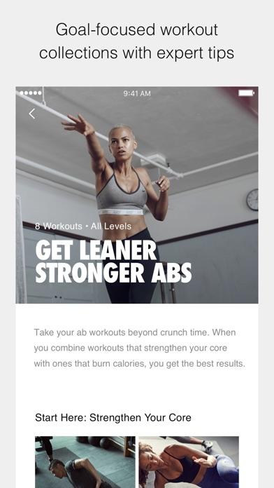Nike Training Club review screenshots