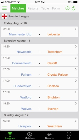 Football Data - Soccer Stats on the App Store