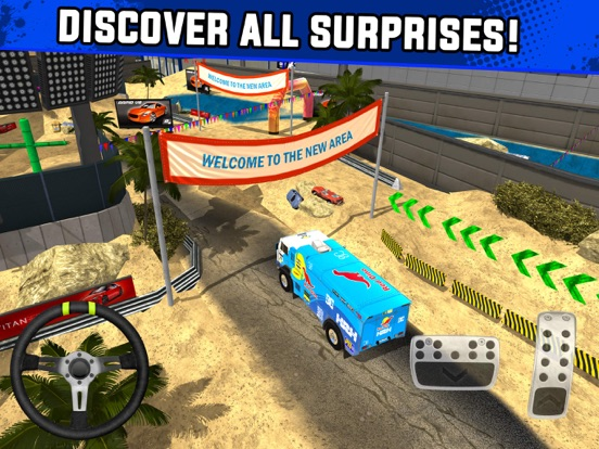 Скачать игру Monster Truck XT Airport Derby