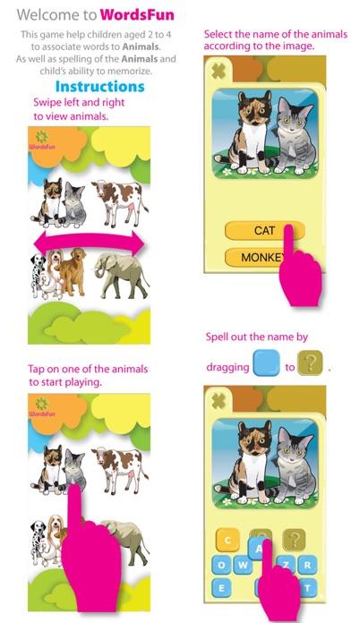 WordsFun -Animals Words Match screenshot two