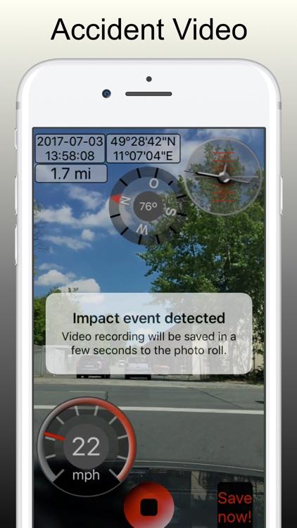Dashcam Pro - Crash Recorder screenshot-0