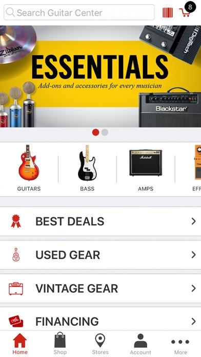 Guitar Center: Shop for Gear for Windows