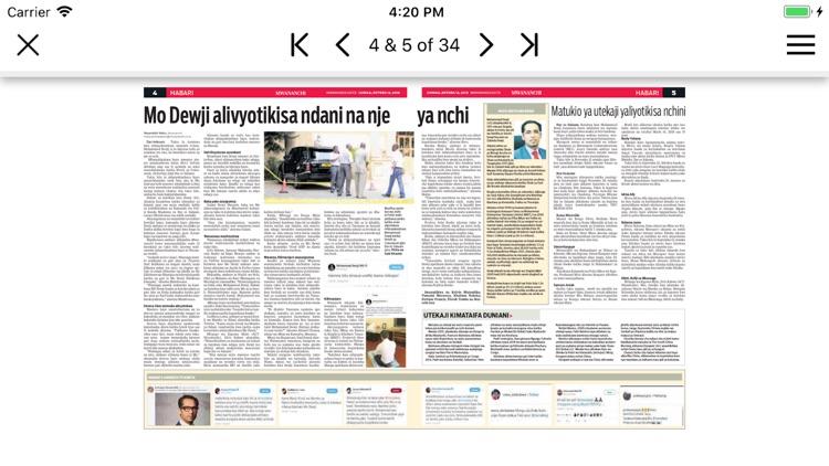 Mwananchi Epaper App screenshot-3