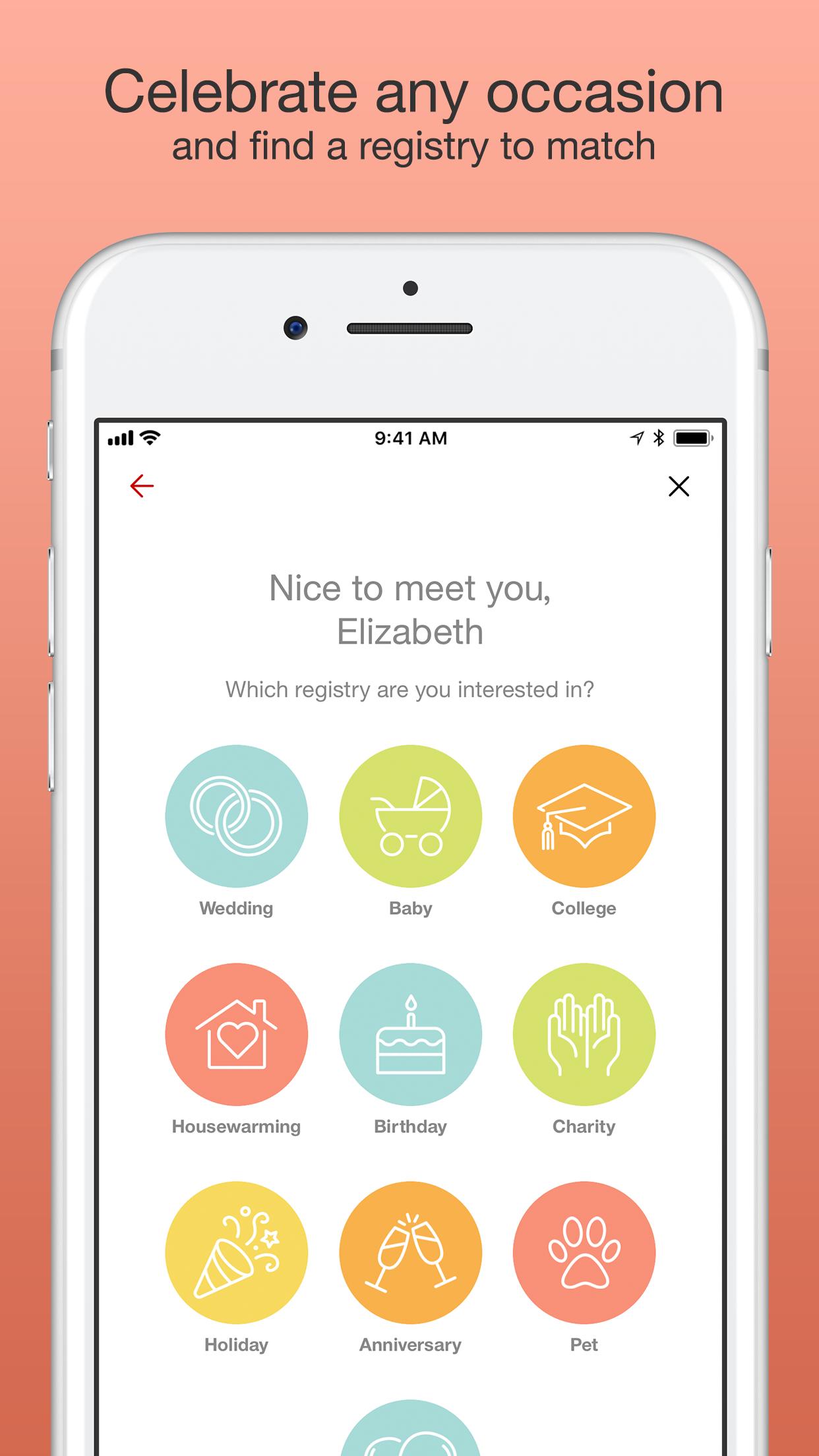 Target Registry Screenshot