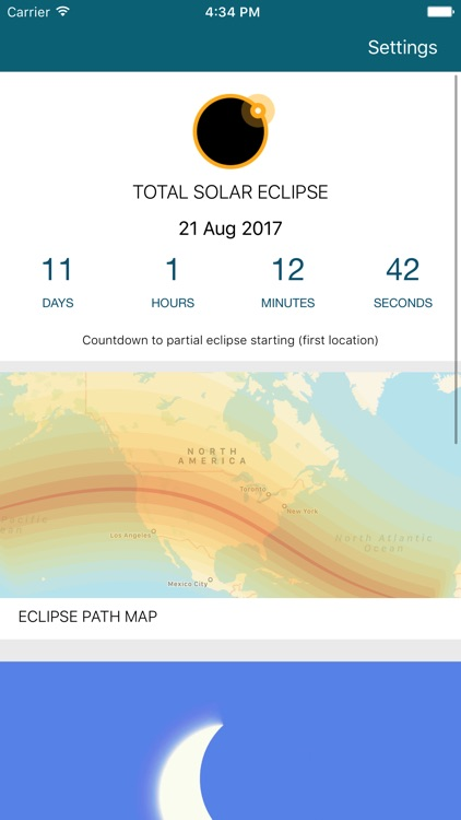 Solar Eclipse 2017 by timeanddate.com