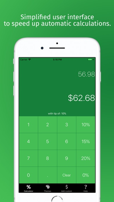 Tipcalculator apple watch app in swift by ludyem | codecanyon.