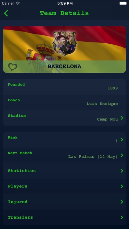 Live Results for Spanish Liga screenshot-4