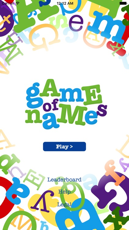 game of names by necoa llc