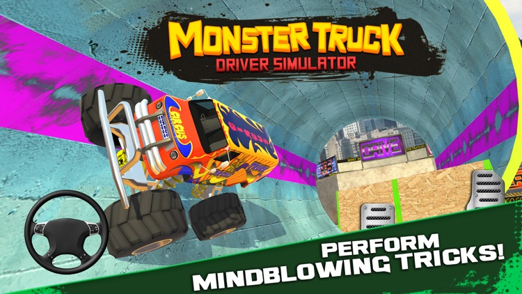 Monster Truck Driver Simulator screenshot-0