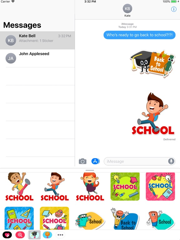 Animated Back to School screenshot 4