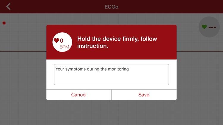 ECGo - ECG on the go