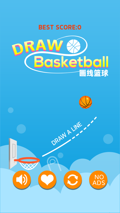 Draw Basketball-Basket