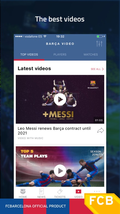 FC Barcelona Official App screenshot-3