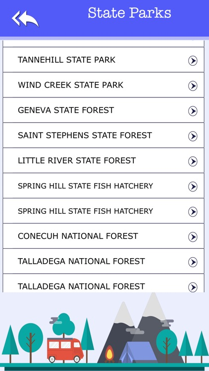 Alabama Camping & State Parks screenshot-3