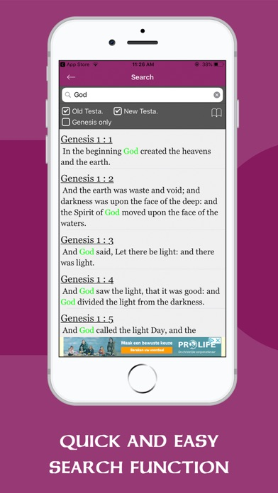 ASV Bible Offline - Holy Bible screenshot two