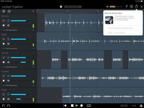 PreSonus Capture Screenshots