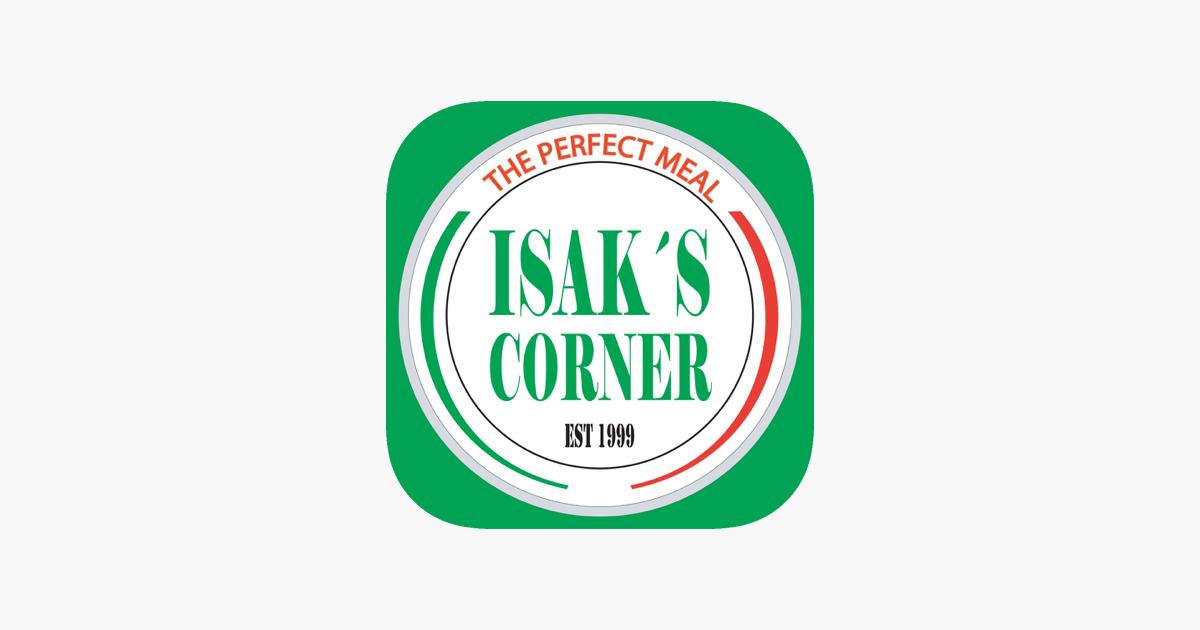 isaks corner meny