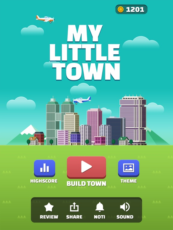 My Little Town : Number Puzzle на iPad
