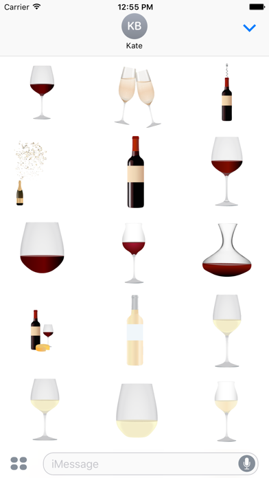 Wine Spectator Stickers 1 Screenshot